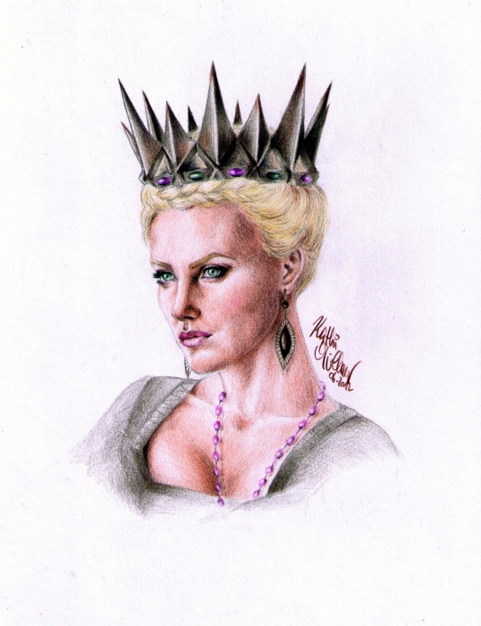 Charlize Theron by Revolver